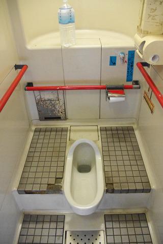 意外にも立派なトイレ!