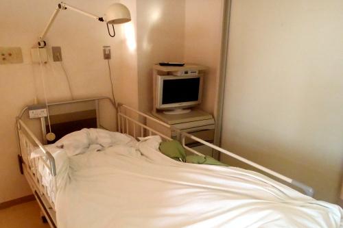 最近では、入院していた病院でウォシュレットを使っていた