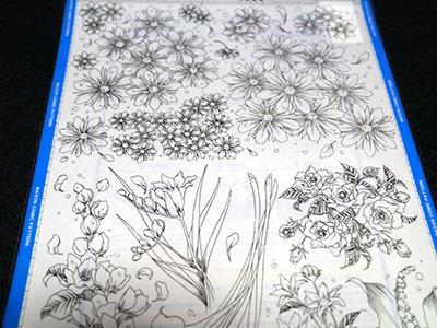 花……これもイチイチ描くのがめんどくさい時用かな?