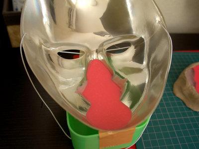 念のためマスクでもしておこう。