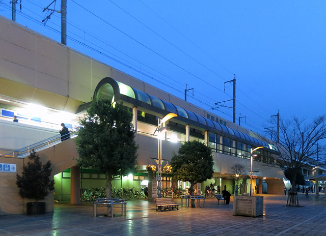 埼京線の戸田公園駅が最寄り駅。はじめて降りた。