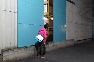途中倉庫の扉が開いていたので、そっと覗いてみたり。楽しい。