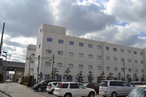 元社員寮の建物