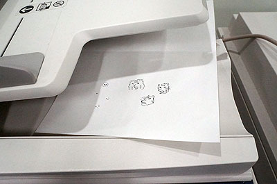 あとで見たらスキャナに紙を1枚置き忘れていて血が凍った。誰にも見られてませんように…
