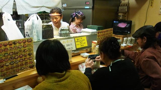 近所の大好きなお寿司屋が道路拡張工事のため閉店。名残惜しい