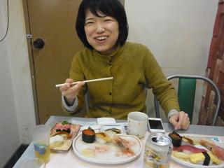 寿司は私を簡単に幸せにしてくれる。