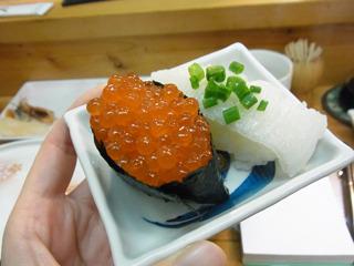 これがこの店最後の寿司か…(美味しそう!)