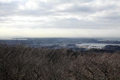 まずは南側、三浦半島の先端部分は意外と平坦