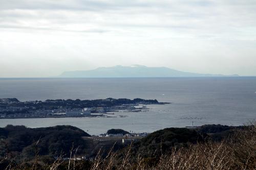 そして伊豆大島がでかい