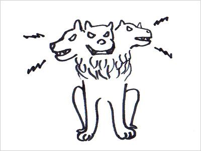 ところでこの神話上の犬をご存知ですね。
