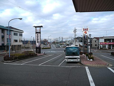 和倉温泉駅前(寂しい感じ)