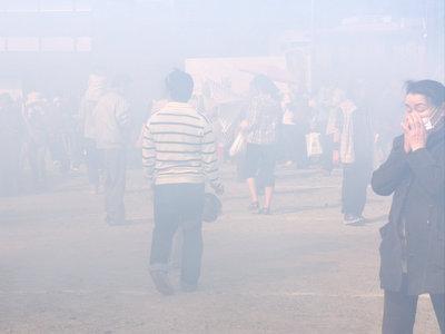 PM2・5状態。