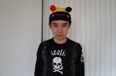 ドクロ服VSプーさん帽子 featuring 俺