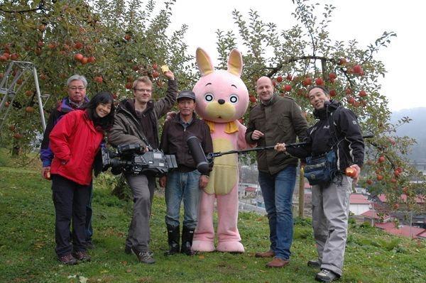 昨年末、ドイツの国営放送から取材が来たそうです。ドイツ人の目にはどう映ったんだろうか……。
