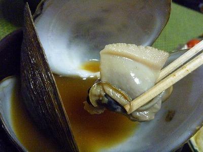 シレナシジミは煮込むと身が縮んでいく。それでもハマグリの身くらいはあるが。