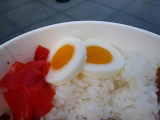 この卵は業務用の輪切りで使うタイプぽい。