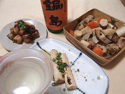 和食なのでテキーラやラムではなく日本酒を用意。