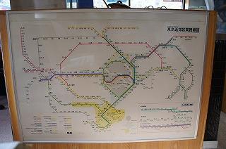 国鉄時代の路線図はすかすか