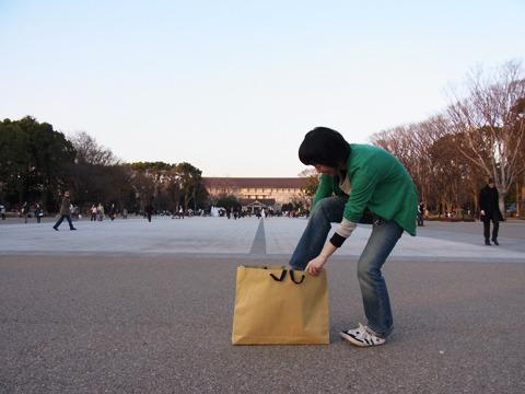 上野公園にやってきました