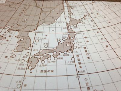 日本各地の風速・気圧が20分間、淡々と読み上げられる