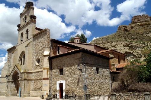 ベロラドという町の小さな教会