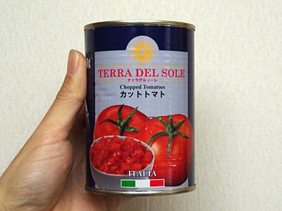 やはり基本はトマトソースでしょう。