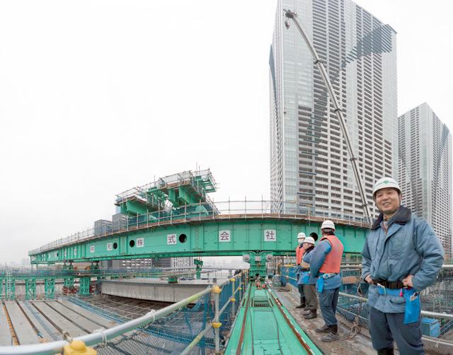 東京都建設局のみなさんと現場の建設会社のみなさんに案内していただきました。ありがとうございます!