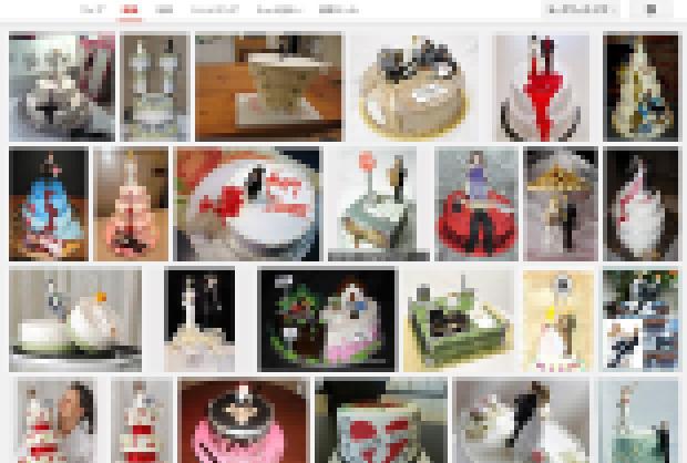 あまりにも怨念の籠もり過ぎたケーキの数々。気になる方は自己責任で検索のこと。