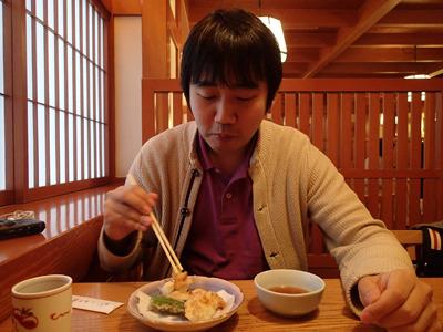 亀戸大根の天ぷらなど、「昼の膳」は豪華な大根づくし