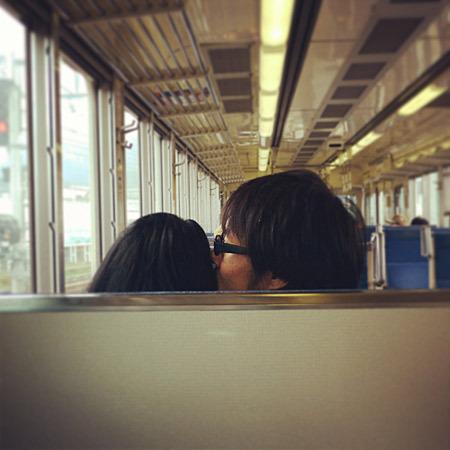 恋人とイチャイチャする電車移動が実現しました