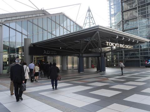 翌日の東京ビッグサイト、同じ場所でそば打ち甲子園は行われる