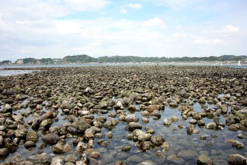 石積みの崩壊が進んでいる和賀江島を忠実に再現……したのだろうか