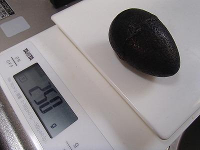 重さ250gの鋳鉄の塊。黒豆煮る時に鉄釘の代わりに入れる物です。