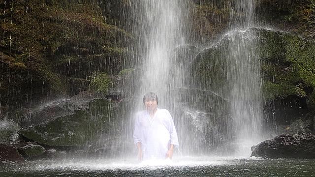最高の一杯(ココア)は滝で生まれる