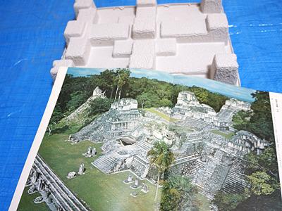 次はマヤ文明を参考に。祭祀センターを作ろう。
