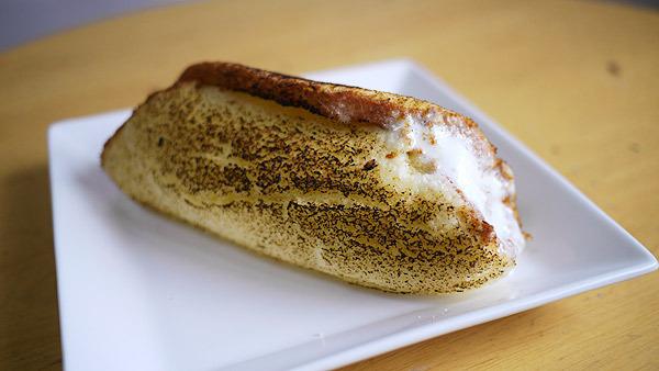 丸ごとバナナは焼きを入れると美味しかった。クリームがいい感じに溶けてとてもよい!