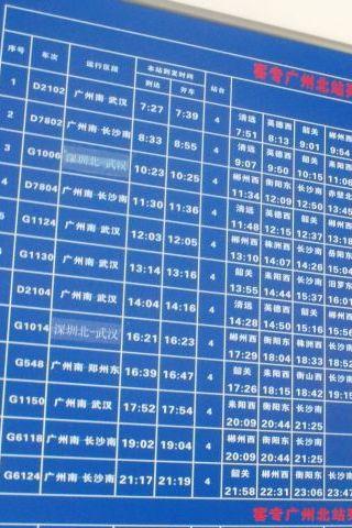 ただし広州北駅の列車本数は1日12本と大都会にして無慈悲。