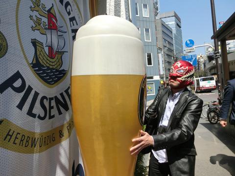 これくらいのビールなら小一時間もあれば飲み干せます