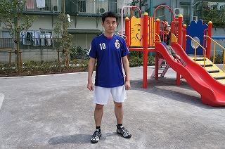 サッカーやってそうに見える服の力