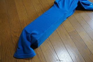 ジャパンブルー的な布で包む