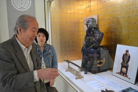 櫻井三郎右衛門さんと孫のさくらいさん