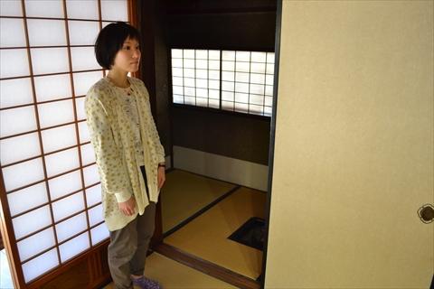 殿様にお茶を点てるための小部屋。さくらいさんは子供の頃かくれんぼでここによくかくれたらしい