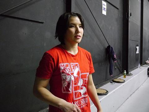 志田光さん。きりっとした雰囲気でかっこいい。