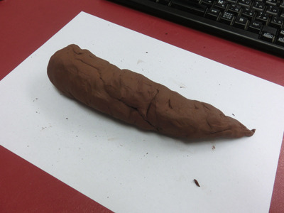粘土を手にすると、とりあえずうんこを作ってしまうのは子どもの頃から変わらぬ習性