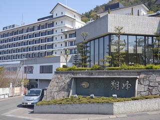 長野県松本市を見下ろす美ヶ原温泉ホテル翔峰
