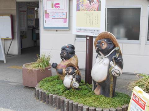 館林のとなり、茂林寺前駅はぶんぷくちゃがま伝説がある