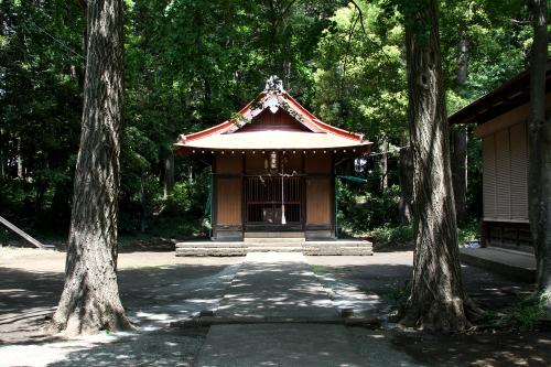 どこにでもありそうな小さな神社である
