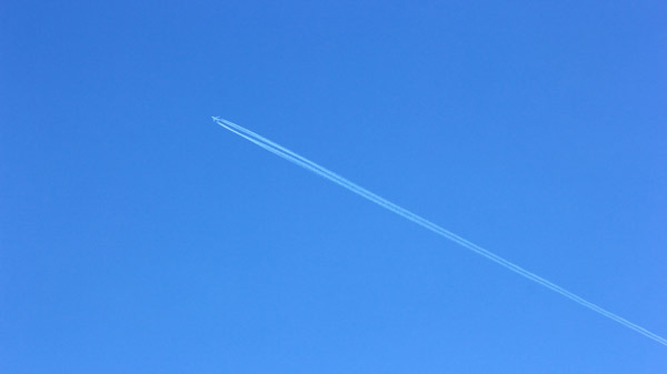 常に青空のような気持ちで物事に向かうことが大切