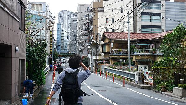 渋谷をスタートして恵比寿を目指す