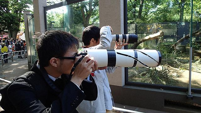 見かけは望遠レンズなのに